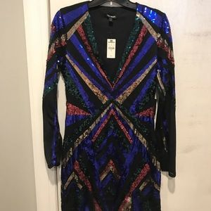 NWT EXPRESS STUNNING DRESS SIZE MEDIUM & XS